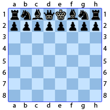 Chess Image 2: The black pieces